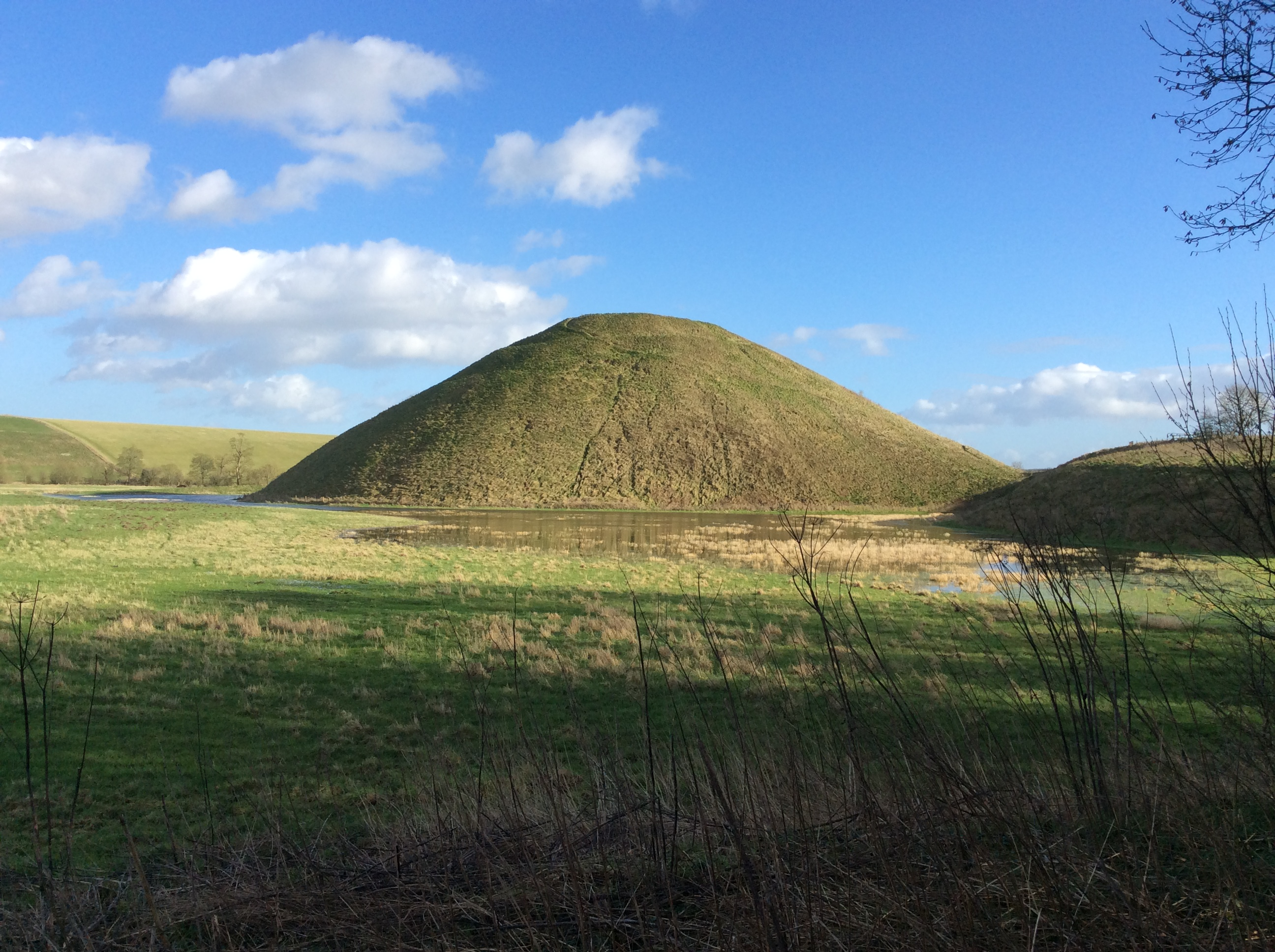 Neolithic Silbury Hill